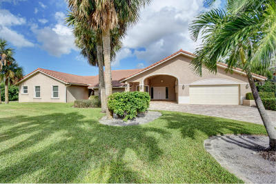 Delray Beach Single Family Home For Sale: 4985 Cherry Laurel Lane