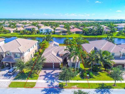 Boynton Beach Single Family Home For Sale: 11814 Fox Hill Circle