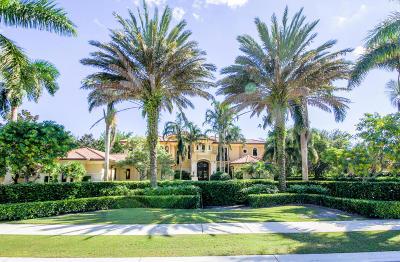 Palm Beach Gardens FL Single Family Home For Sale: $6,800,000