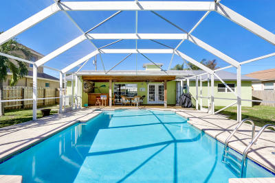 Hobe Sound Single Family Home For Sale: 8100 SE Crossrip Street