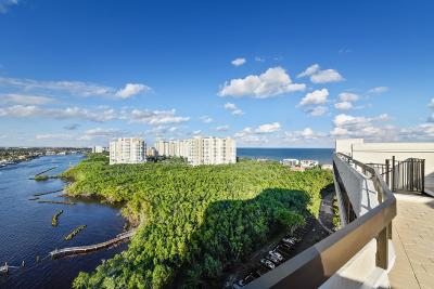 Highland Beach Condo For Sale: 3912 S Ocean Boulevard #Ph-1