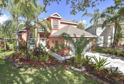 Jensen Beach Single Family Home For Sale: 928 NW Waterlily Place
