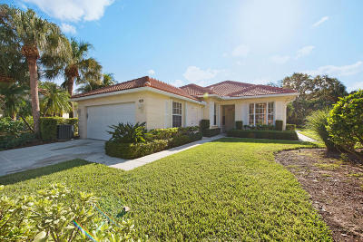 Palm Beach Gardens Single Family Home For Sale: 429 Kelsey Park Drive