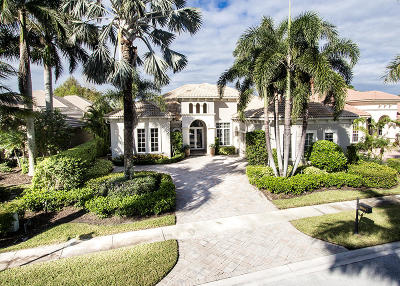 West Palm Beach Single Family Home For Sale: 7985 Cranes Pointe Way