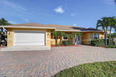 Port Saint Lucie Single Family Home Contingent: 2755 SW Rosser Boulevard