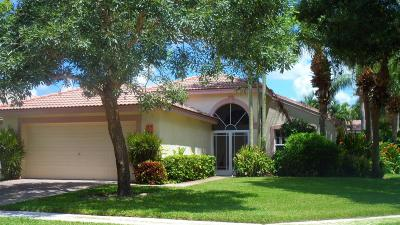 Boynton Beach Single Family Home For Sale: 7603 San Carlos Street