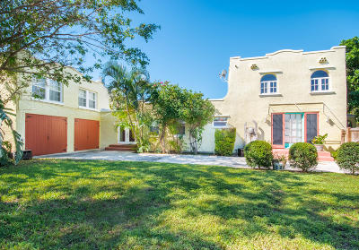 Lake Worth Single Family Home For Sale: 311 Fordham Drive
