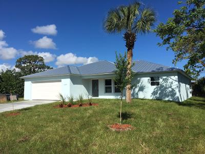 Stuart Single Family Home Contingent: 1165 NW 14 Th Street