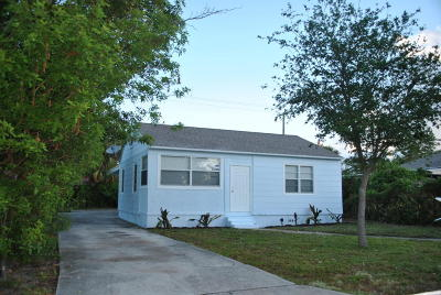 West Palm Beach Single Family Home For Sale: 731 50th Street