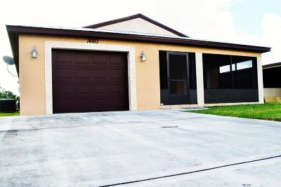 Fort Pierce Single Family Home For Sale: 14163 Zorzal Avenue
