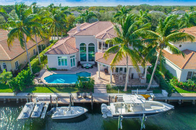 North Palm Beach Single Family Home For Sale: 736 Harbour Isle Way