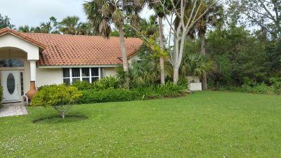 Hobe Sound Single Family Home For Sale: 8087 SE Windjammer Way
