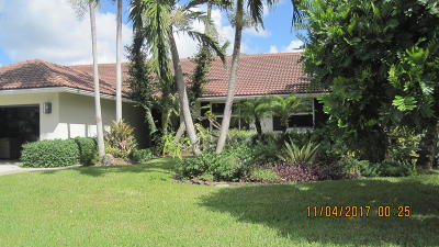 Delray Beach Single Family Home For Sale: 4195 NW 7th Court