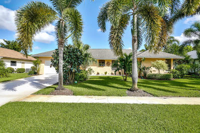 Delray Beach Single Family Home Contingent: 14766 Woodlodge Lane