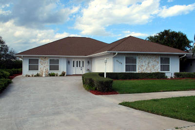 Fort Pierce Single Family Home Contingent: 4404 Gator Trace Lane