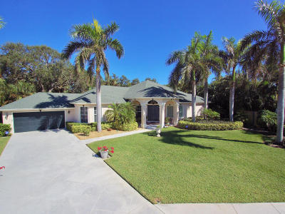 North Palm Beach Single Family Home For Sale: 2535 Sun Cove Lane
