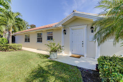 Palm Beach Gardens Single Family Home For Sale: 1348 Saint Lawrence Drive
