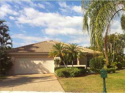 Boca Raton Single Family Home For Sale: 11165 Highland Circle