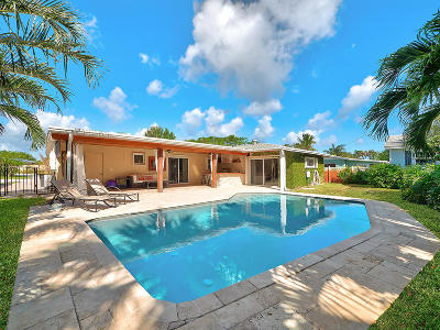 Palm Beach Gardens Single Family Home Contingent: 2360 S Wallen Drive