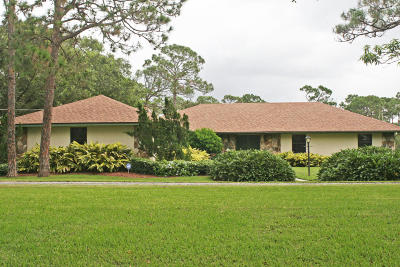Fort Pierce Single Family Home For Sale: 500 Pulitzer Road