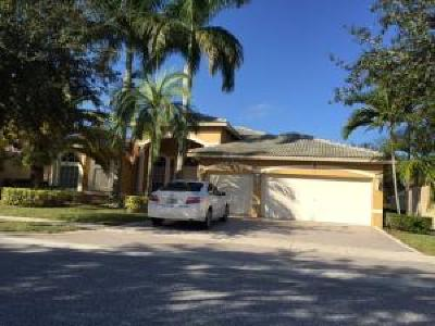 Lake Worth Single Family Home For Sale: 10639 Oak Meadow Lane
