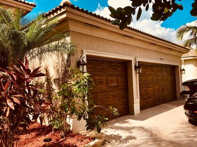 Lake Worth Single Family Home For Sale: 6087 Pond Bluff Court
