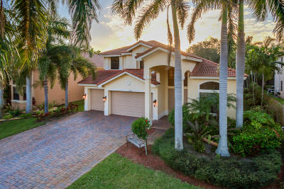 Boynton Beach Single Family Home For Sale: 12929 Pennell Pines Road