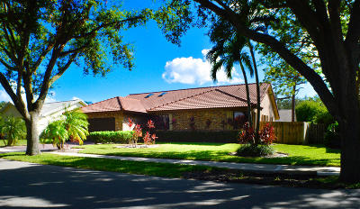 Boca Raton Single Family Home For Sale: 2584 NW 39th Street