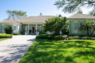 Indian River Shores Single Family Home For Sale: 118 Hidden Oak Drive