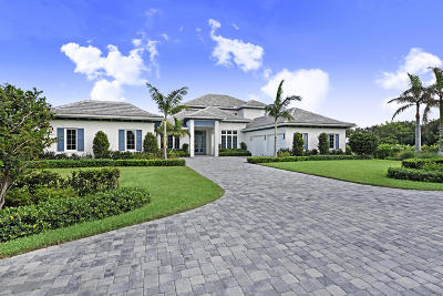 North Palm Beach Single Family Home For Sale: 1138 Banyan Estates Drive