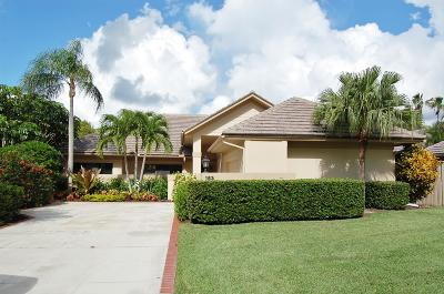 Palm Beach Gardens Single Family Home For Sale: 153 Coventry Place
