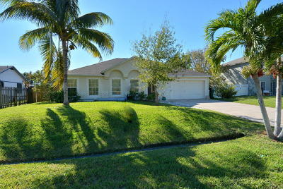 Port Saint Lucie Single Family Home For Sale: 642 SE Starflower Avenue