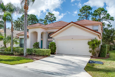 Palm Beach Gardens Single Family Home For Sale: 181 Bent Tree Drive
