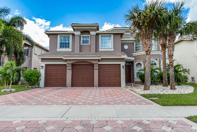 Royal Palm Beach Single Family Home For Sale: 2105 Bellcrest Court