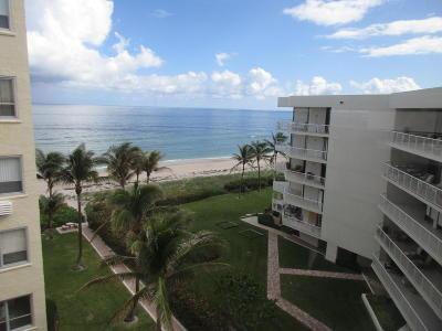 Palm Beach Condo For Sale: 2730 S Ocean Boulevard #609