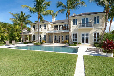 Palm Beach Single Family Home For Sale: 1191 Lake Way