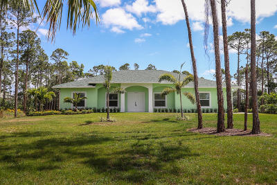 Palm Beach Country Estates Rental For Rent: 14038 69th Drive