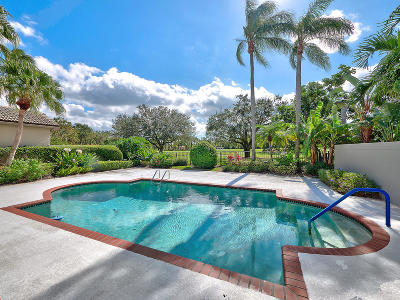 Palm Beach Gardens Single Family Home For Sale: 13608 Verde Drive
