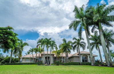 Palm Beach County Single Family Home For Sale: 15450 Enstrom Road