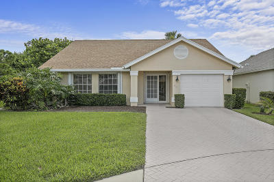 Jupiter Single Family Home For Sale: 291 Moccasin Trail W