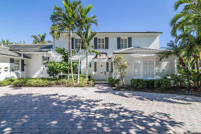 West Palm Beach Single Family Home For Sale: 3510 Flagler Drive