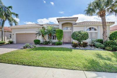 Boynton Beach Single Family Home For Sale: 6794 Treves Way