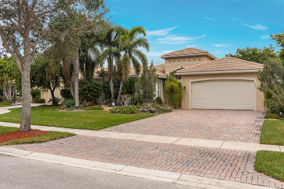 Lake Worth Single Family Home For Sale: 7804 Brookmar Court