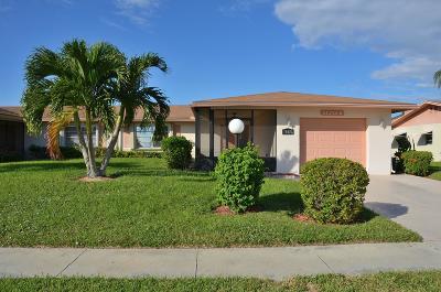 Delray Beach Single Family Home For Sale: 13476 Via Vesta #B