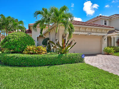 Palm Beach Gardens Single Family Home For Sale: 12424 Aviles Circle