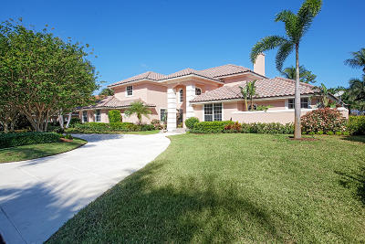 Boynton Beach Single Family Home For Sale: 4555 Turnberry Court