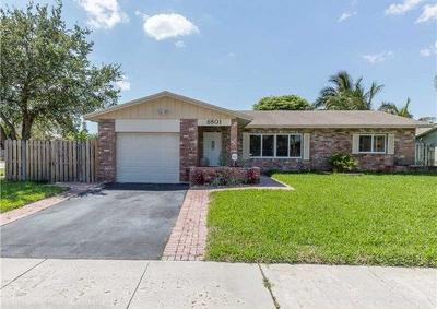 Fort Lauderdale Single Family Home For Sale: 6801 NW 28 Terrace
