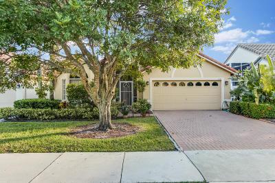 Delray Beach Single Family Home For Sale: 7699 Stirling Bridge Boulevard