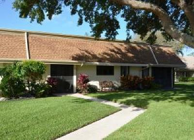 Jupiter Single Family Home For Sale: 108 Half Moon Circle #A