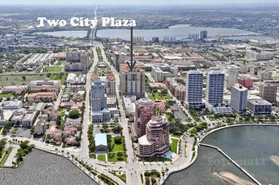 Two City Plaza Condo For Sale: 701 S Olive Avenue #2009